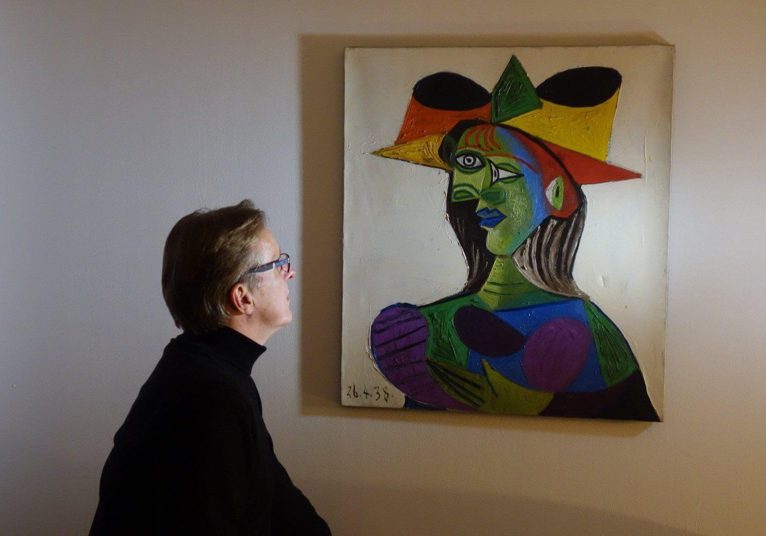 Picasso en Arthur Brand