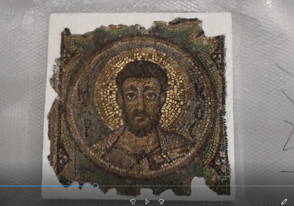 St Mark mosaic - copyright Arthur Brand