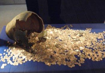 Een reconstructie van de schat van Carchemish